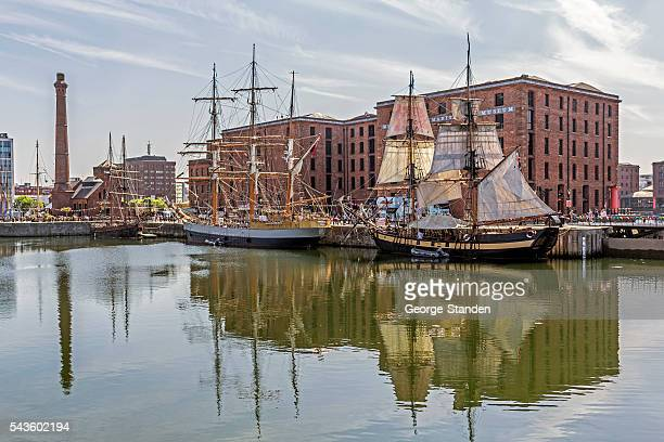 Tall ships 、アルバートドック、メルツヴェックハレビューズム