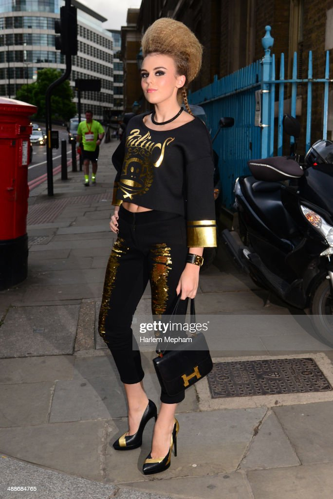 <a gi-track='captionPersonalityLinkClicked' href=/galleries/search?phrase=Tallia+Storm&family=editorial&specificpeople=7869096 ng-click='$event.stopPropagation()'>Tallia Storm</a> arrives at Old Billingsgate for Gabrielle's Gala on May 7, 2014 in London, England.