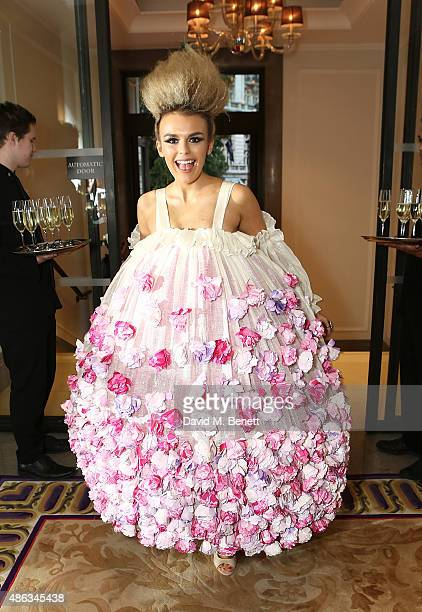 Tallia Storm at Corinthia Hotel London on September 3 2015 in London England