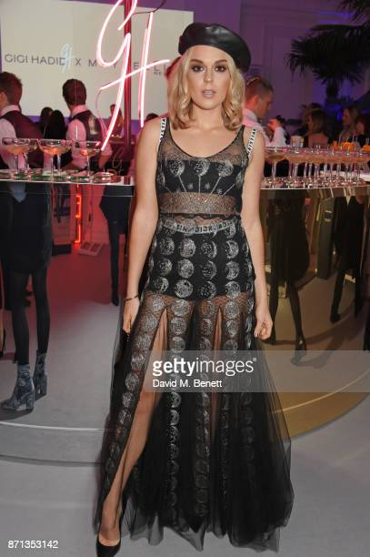 Tallia Storm attends a party hosted by Gigi Hadid to launch her new limitededition Maybelline collection on November 7 2017 in London England
