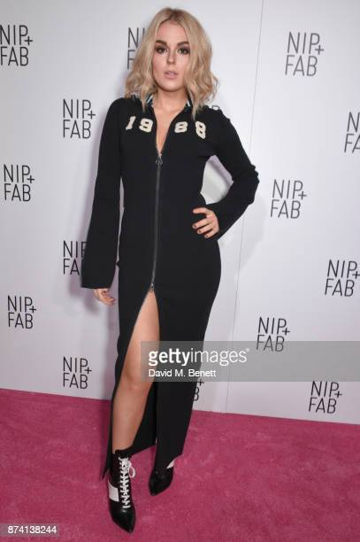 Tallia Storm attends as Sofia Richie is announced as the latest NipFab Ambassador at Restaurant Ours on November 14 2017 in London England