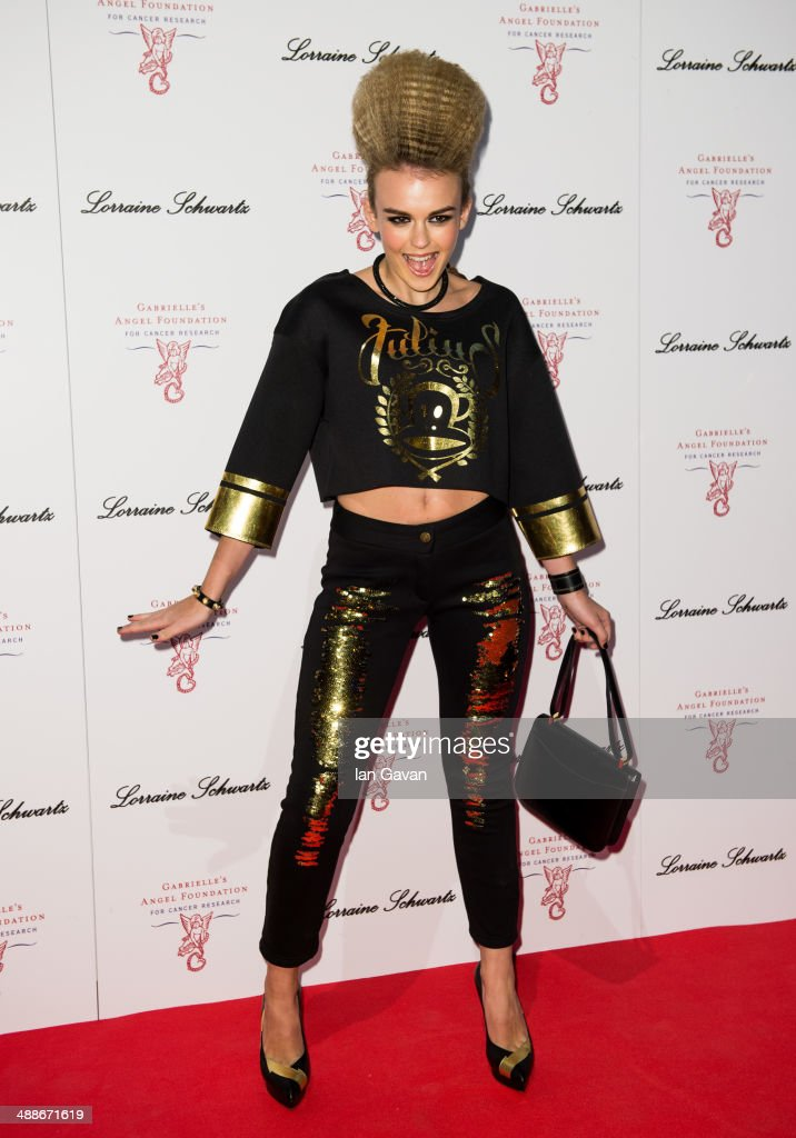 <a gi-track='captionPersonalityLinkClicked' href=/galleries/search?phrase=Tallia+Storm&family=editorial&specificpeople=7869096 ng-click='$event.stopPropagation()'>Tallia Storm</a> attends Gabrielle's Gala at Old Billingsgate Market on May 7, 2014 in London, England. Gabrielle's Gala is an annual fundraiser in aid of Gabrielle's Angel Foundation for Cancer.