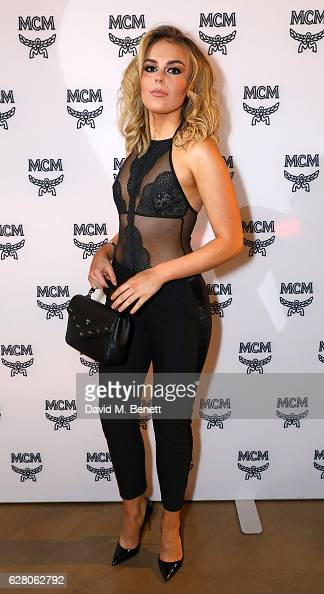 Tallia Storm attends MCM's London Flagship Opening Party on December 6 2016 in London England