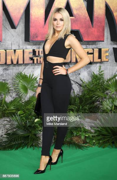 Tallia Storm attends the 'Jumanji Welcome To The Jungle UK premiere held at Vue West End on December 7 2017 in London England