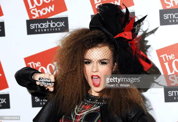 Tallia Storm attends The Look Show in association with Smashbox Cosmetics at Royal Courts of Justice Strand on October 6 2012 in London England