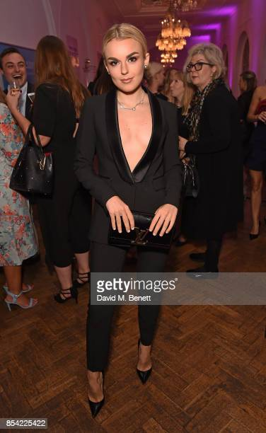 Tallia Storm attends the Marie Claire Future Shapers Awards drinks reception at One Marylebone on September 26 2017 in London England