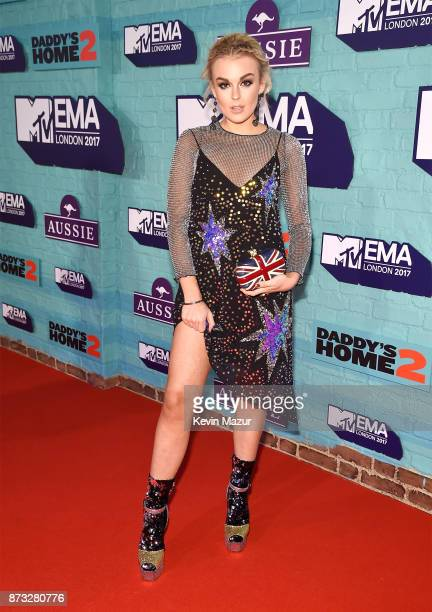 Tallia Storm attends the MTV EMAs 2017 held at The SSE Arena Wembley on November 12 2017 in London England