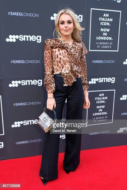 Tallia Storm attends the opening party for the new smeg flagship store on Regents Street on September 14 2017 in London England