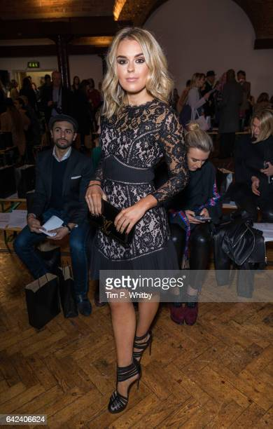 Tallia Storm attends the PPQ show during London Fashion Week February 2017 collections at Crypt on the Green on February 17 2017 in London England