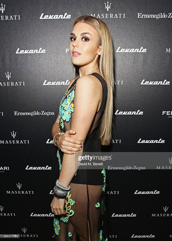 <a gi-track='captionPersonalityLinkClicked' href=/galleries/search?phrase=Tallia+Storm&family=editorial&specificpeople=7869096 ng-click='$event.stopPropagation()'>Tallia Storm</a> attends the UK VIP reveal of the Maserati Levante SUV at The Royal Horticultural Halls on May 26, 2016 in London, England.