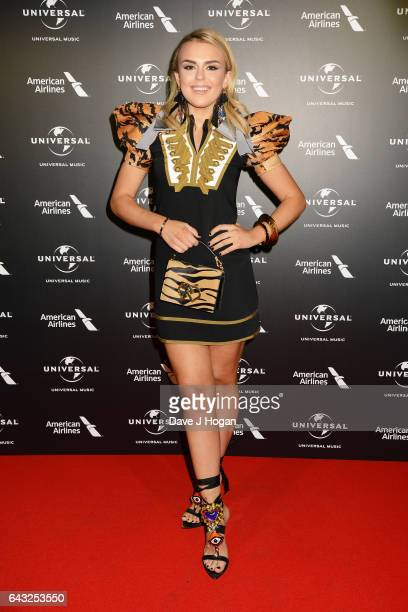 Tallia Storm attends the Universal Music preBRIT Award party at One Embankment on February 20 2017 in London England