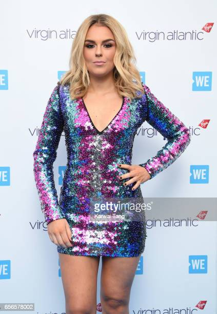 Tallia Storm attends WE Day UK at The SSE Arena on March 22 2017 in London United Kingdom