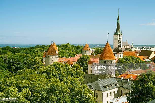 Tallinn in summer