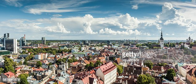 Tallinn Panorama, Estonia