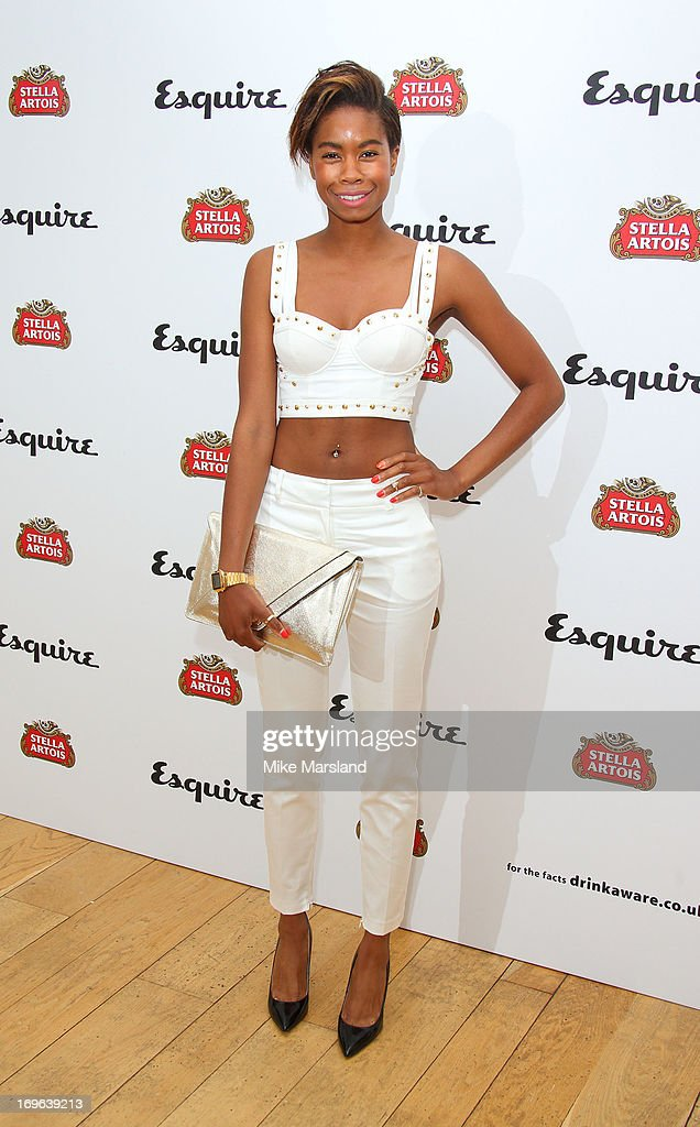Tallulah Adeyemi attends Esquire magazine's summer party at Somerset House on May 29, 2013 in London, England.