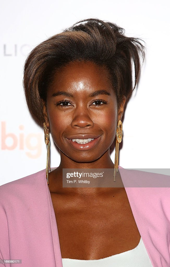 Tallulah Adeyemi attends Special screening of 'The Big Wedding' at May Fair Hotel on May 23, 2013 in London, England.