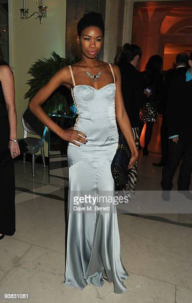 Tallulah Adeyemi attends the 'Nine' world film premiere after party at the Odeon Leicester Square on December 3 2009 in London England