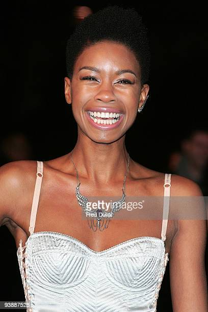 Tallulah Adeyemi attends the World Premiere of 'Nine' at Odeon Leicester Square on December 3 2009 in London England