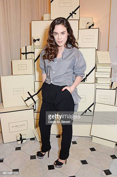 Tallulah Harlech attends a dinner hosted by Jo Malone London and Tallulah Harlech to launch the 'Just Because' campaign on January 13 2015 in London...