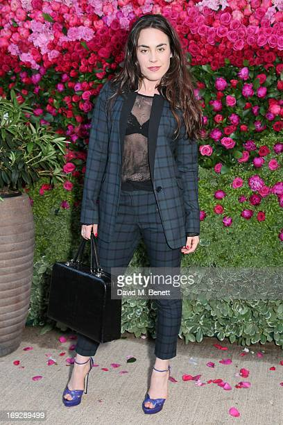 Tallulah Harlech attends a private dinner hosted by Thandie Newton and Sandra Choi Choi to celebrate the Jimmy Choo prefall collection 'The Season'...