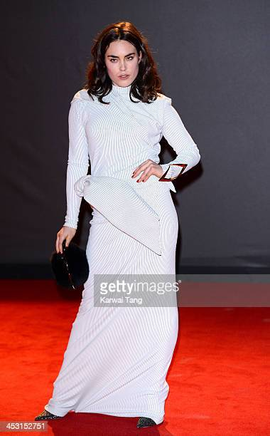 Tallulah Harlech attends the British Fashion Awards 2013 held at the London Coliseum on December 2 2013 in London England