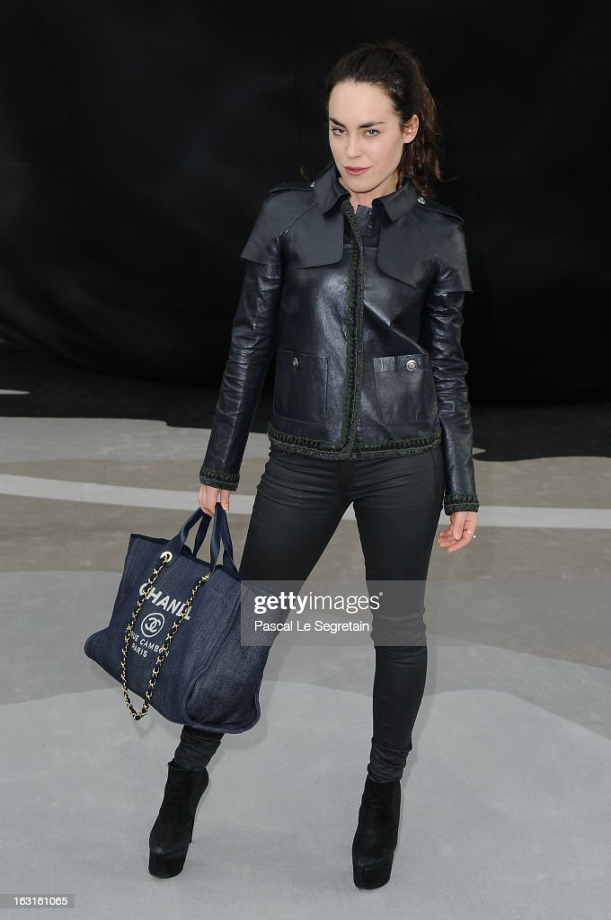 Tallulah Harlech attends the Chanel Fall/Winter 2013 Ready-to-Wear show as part of Paris Fashion Week at Grand Palais on March 5, 2013 in Paris, France.