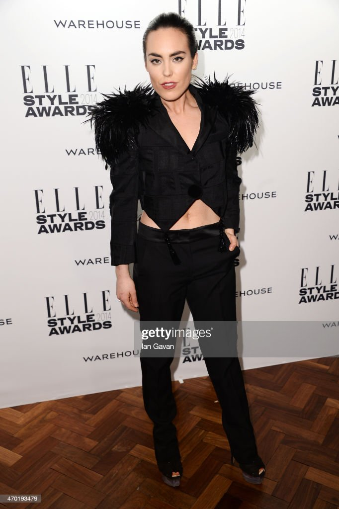 <a gi-track='captionPersonalityLinkClicked' href=/galleries/search?phrase=Tallulah+Harlech&family=editorial&specificpeople=5521162 ng-click='$event.stopPropagation()'>Tallulah Harlech</a> attends the Elle Style Awards 2014 at one Embankment on February 18, 2014 in London, England.