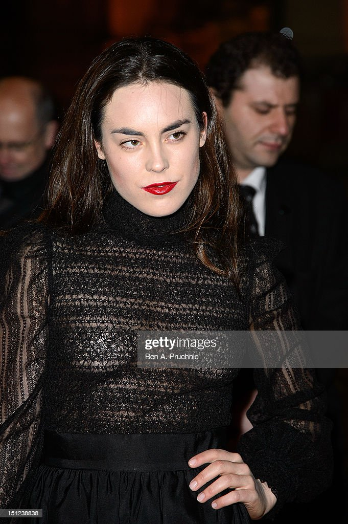 Tallulah Harlech attends the Hollywood Costume gala dinner at Victoria & Albert Museum on October 16, 2012 in London, England.