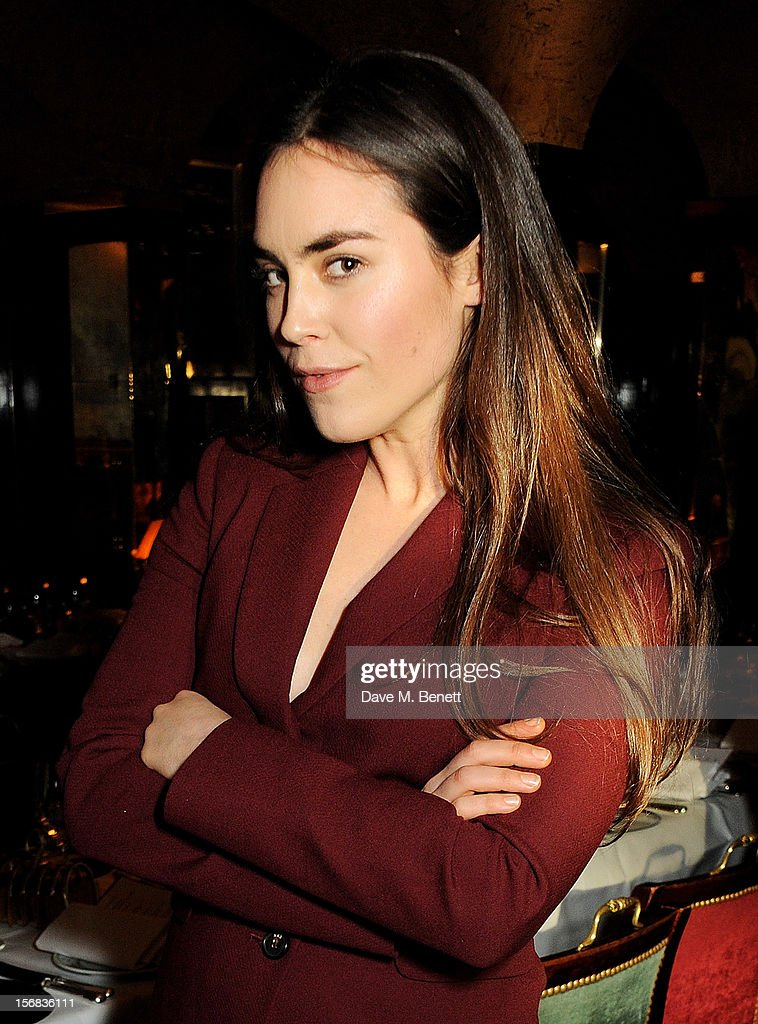 Tallulah Harlech attends the launch of Bryan Ferry's new album 'The Jazz Age' at Annabels on November 22, 2012 in London, England.