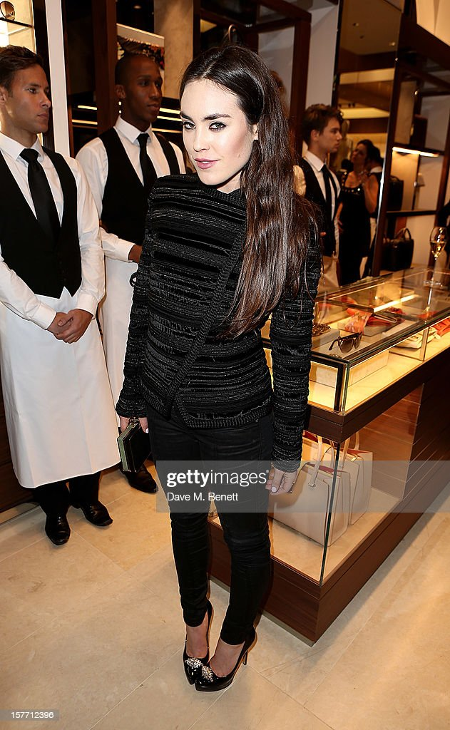 Tallulah Harlech attends the launch of the Salvatore Ferragamo London Flagship Store on Old Bond Street on December 5, 2012 in London, England.