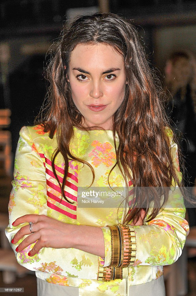 Tallulah Harlech attends the Matthew Williamson show during London Fashion Week Fall/Winter 2013/14 on February 17, 2013 in London, England.
