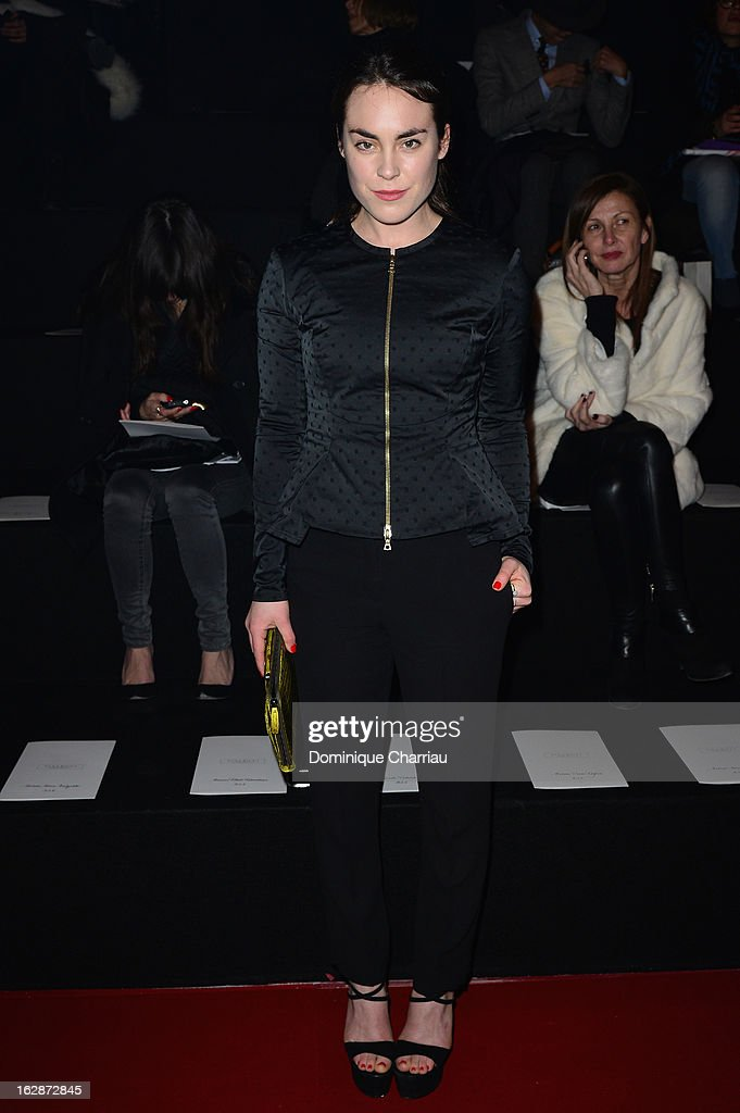 Tallulah Harlech attends the Nina Ricci Fall/Winter 2013 Ready-to-Wear show as part of Paris Fashion Week on February 28, 2013 in Paris, France.
