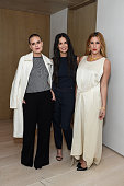 Tallulah Willis Demi Moore and Scout Willis attend NETAPORTER Celebrates Rosetta Getty on November 20 2014 in Los Angeles California