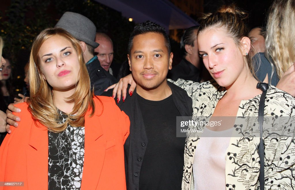 Tallulah Willis, <a gi-track='captionPersonalityLinkClicked' href=/galleries/search?phrase=Rembrandt+Flores&family=editorial&specificpeople=693163 ng-click='$event.stopPropagation()'>Rembrandt Flores</a> and <a gi-track='captionPersonalityLinkClicked' href=/galleries/search?phrase=Scout+Willis&family=editorial&specificpeople=2669400 ng-click='$event.stopPropagation()'>Scout Willis</a> attend the Nylon + BCBGeneration May Young Hollywood Party at Hollywood Roosevelt Hotel on May 8, 2014 in Hollywood, California.