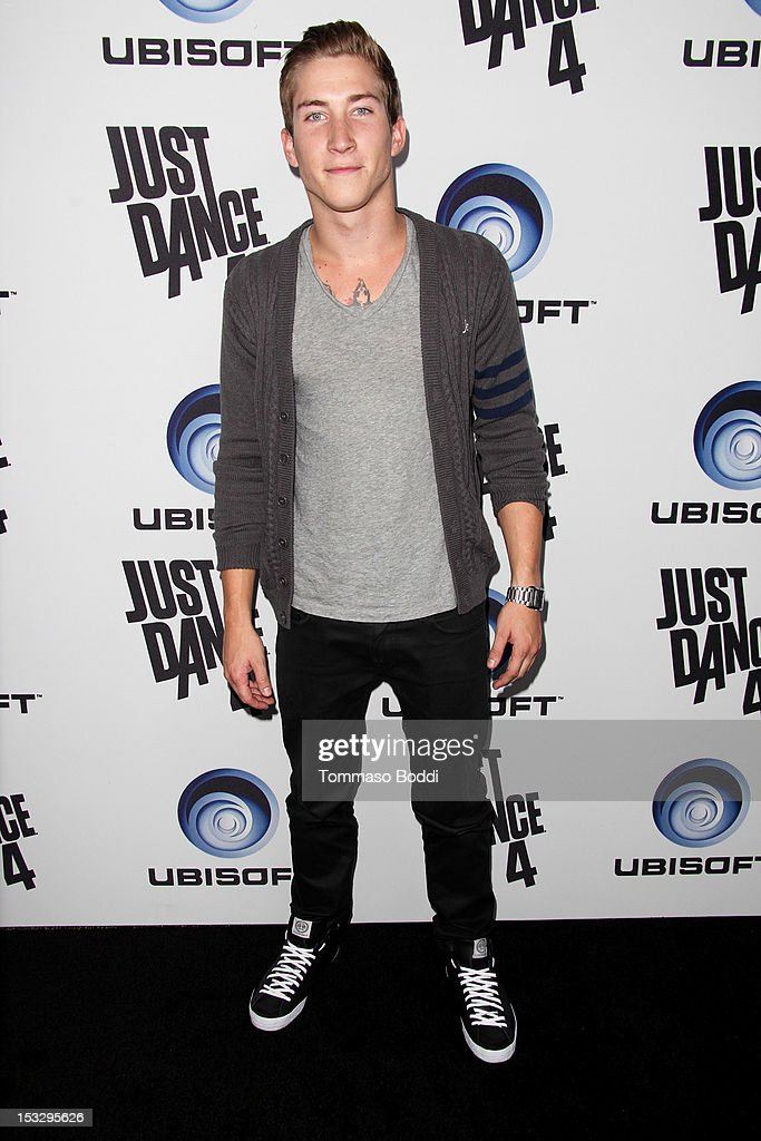 Talon Reid attends the Ubisoft presents the launch of 'Just Dance 4' held at Lexington Social House on October 2, 2012 in Hollywood, California.