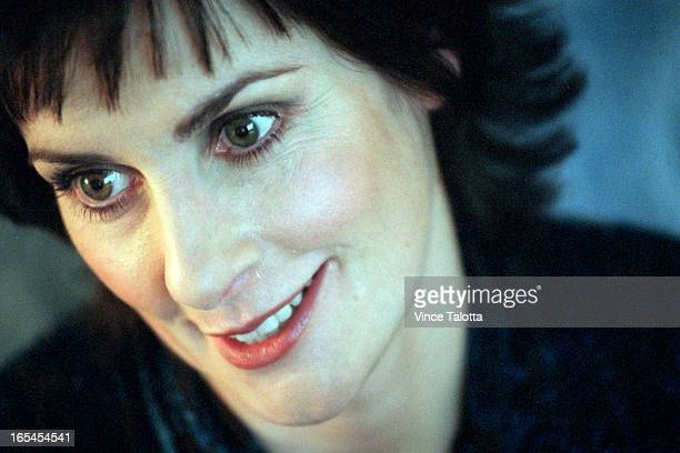 Talotta1 Enya during an interview at Four Seasons Hotel