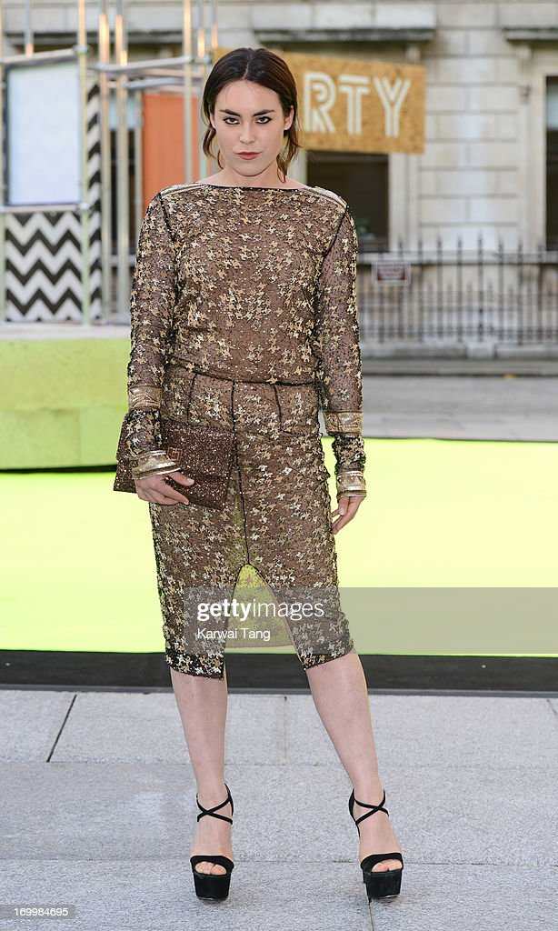 Talulah Harlech attends the preview party for The Royal Academy Of Arts Summer Exhibition 2013 at Royal Academy of Arts on June 5, 2013 in London, England.
