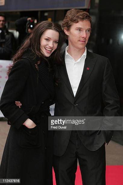 Talulah Riley and guest attend The Prince's Trust Celebrate Success Awards at the Odeon Leicester Square on March 18 2008 in London England