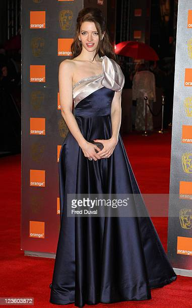 Talulah Riley arrives at The 2011 Orange British Academy Film Awards at The Royal Opera House on February 13 2011 in London England