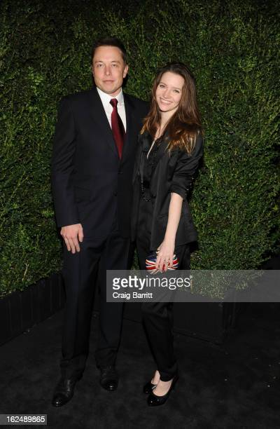 Talulah Riley attends the Chanel PreOscar dinner at Madeo Restaurant on February 23 2013 in Los Angeles California