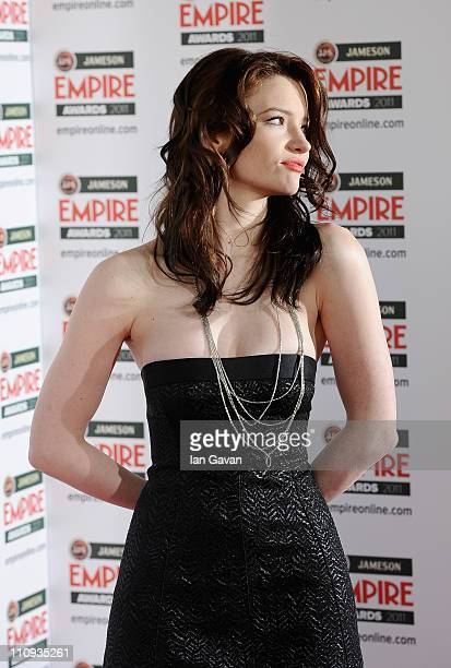 Talulah Riley attends the Jameson Empire Awards at the Grosvenor House Hotel on March 27 2011 in London England
