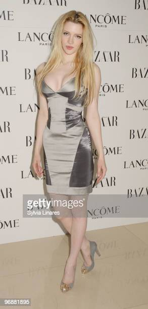 Talulah Riley attends the Lancome and Harper's Bazaar BAFTA party held at St Martins Lane Hotel on February 19 2010 in London England