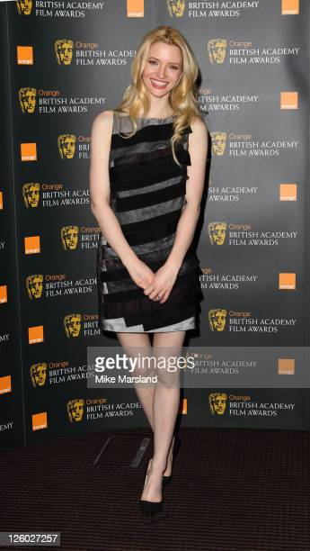 Talulah Riley attends the nomination announcement of 2011 Orange British Academy Film Awards at BAFTA on January 18 2011 in London England