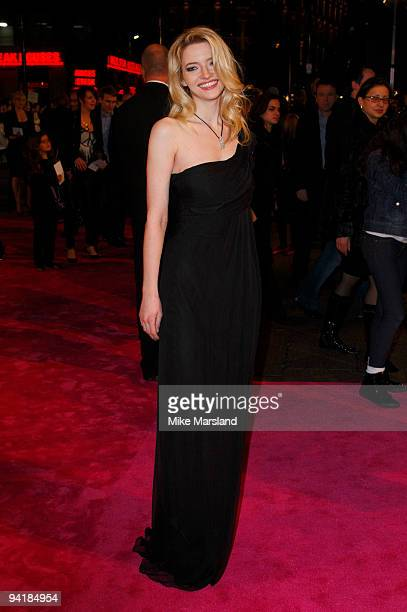 Talulah Riley attends the World Premiere of St Trinian's 2 The Legend of Fritton's Gold at Empire Leicester Square on December 9 2009 in London...