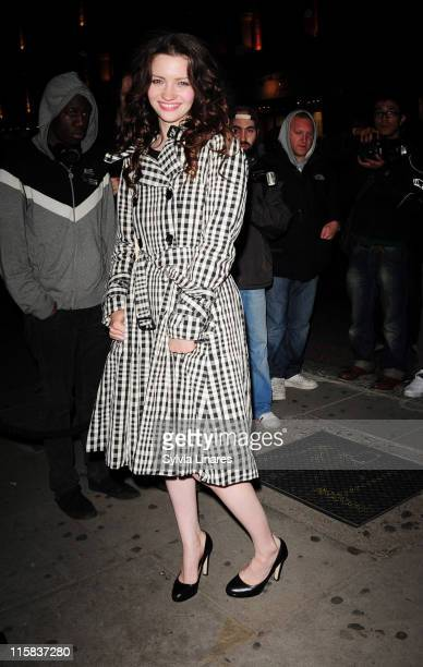 Talulah Riley poses on June 18 2009 in London England