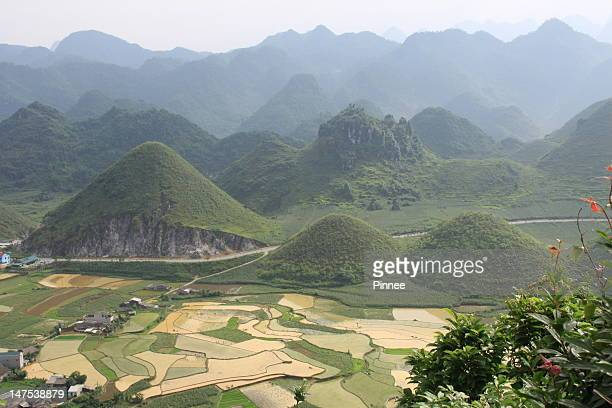 Tam Son Overview, Mountain, Terraces