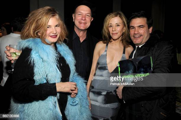 Tama Janowitz Ricky Clifton Paige Powell and Jeffrey Slonim attend ROGER PADILHA MAURICIO PADILHA Celebrate Their Rizzoli Publication THE STEPHEN...