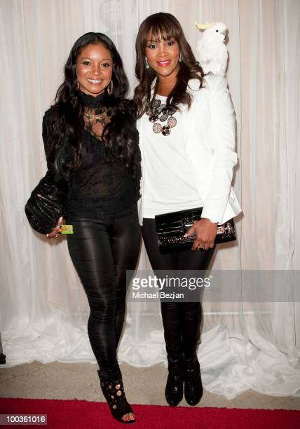 Tamala Jones and Vivica A Fox at Diana Lopez Birthday Celebration on May 22 2010 in Los Angeles California