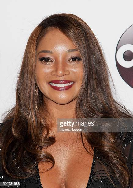 Tamala Jones attends the Disney/ABC 2016 Winter TCA Tour at Langham Hotel on January 9 2016 in Pasadena California
