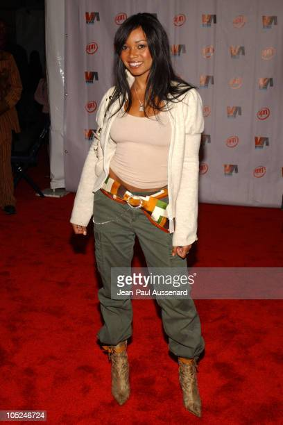 Tamala Jones during 2003 VIBE Awards Arrivals at Civic Auditorium in Santa Monica California United States